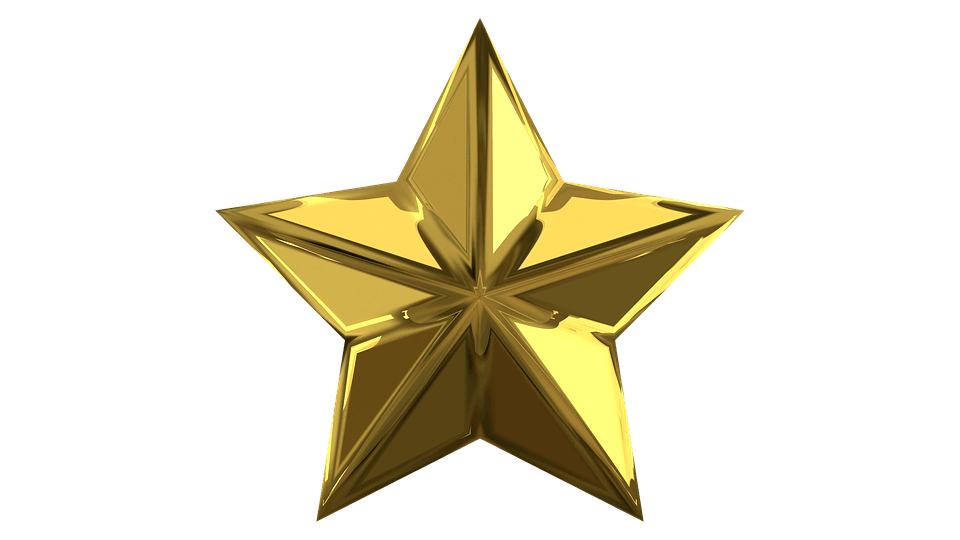Image of a gold star