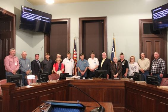 Image of March 26 Commissioners Court