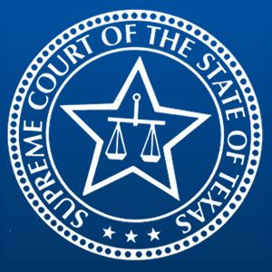 Image of the seal of the Texas-Supreme-Court