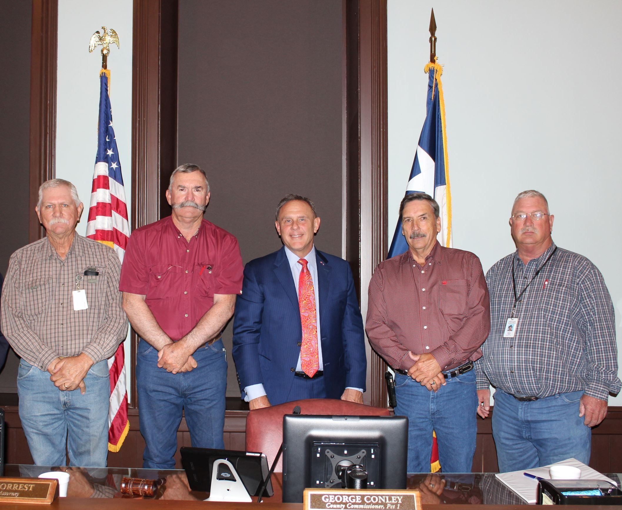 Image of the 2018 Commissioners Court