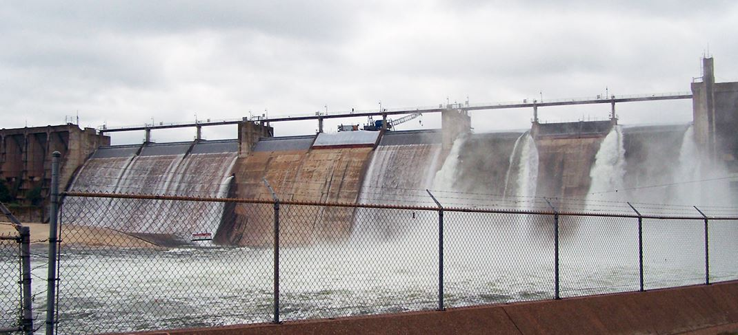 IMAGE OF POSSUM KINGDOM DAM