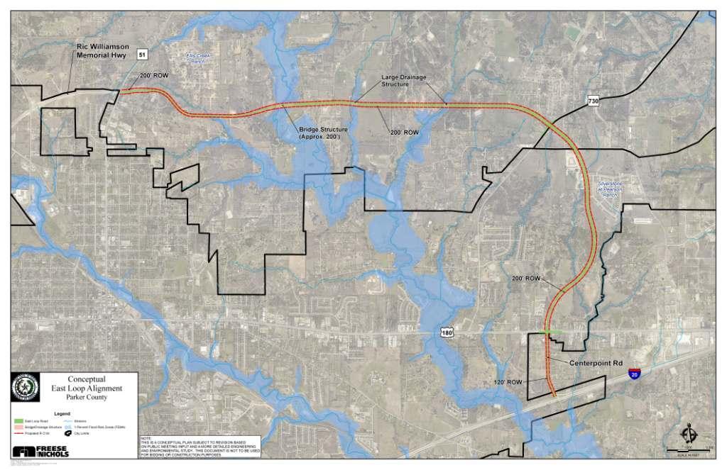 Conceptual Alignment of East Loop