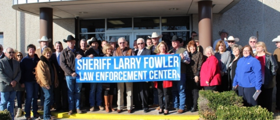 Parker County Sheriff's Office Renamed the Sheriff Larry Fowler Law Enforcement Center