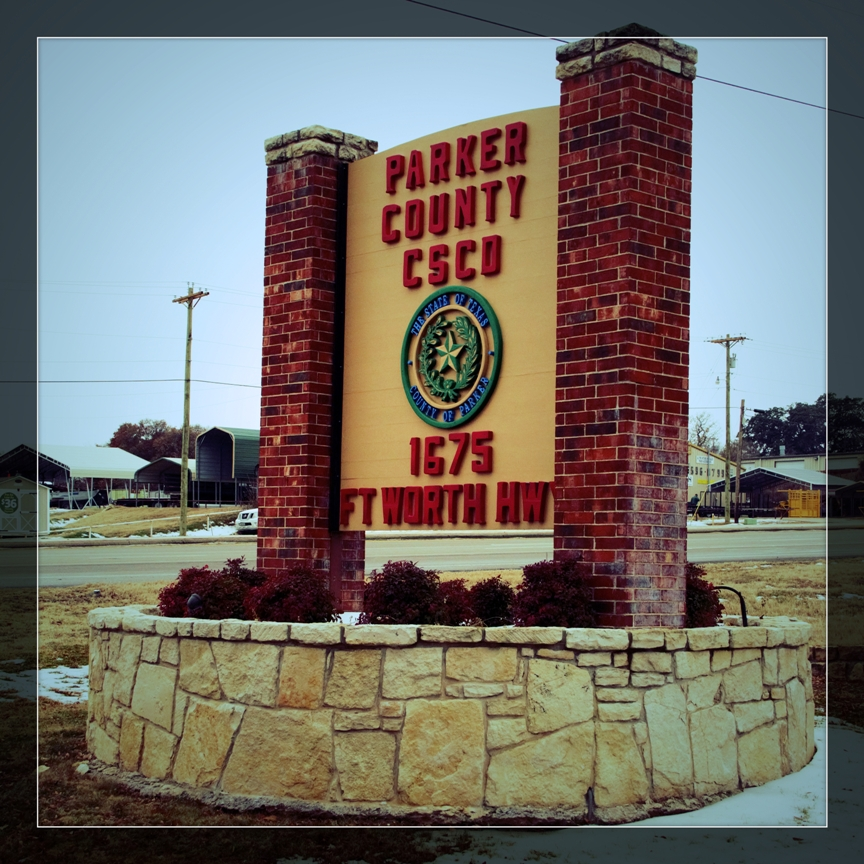 parker county cscd sign